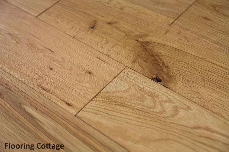 Richmond Solid Brushed Oak Oiled Wood -01