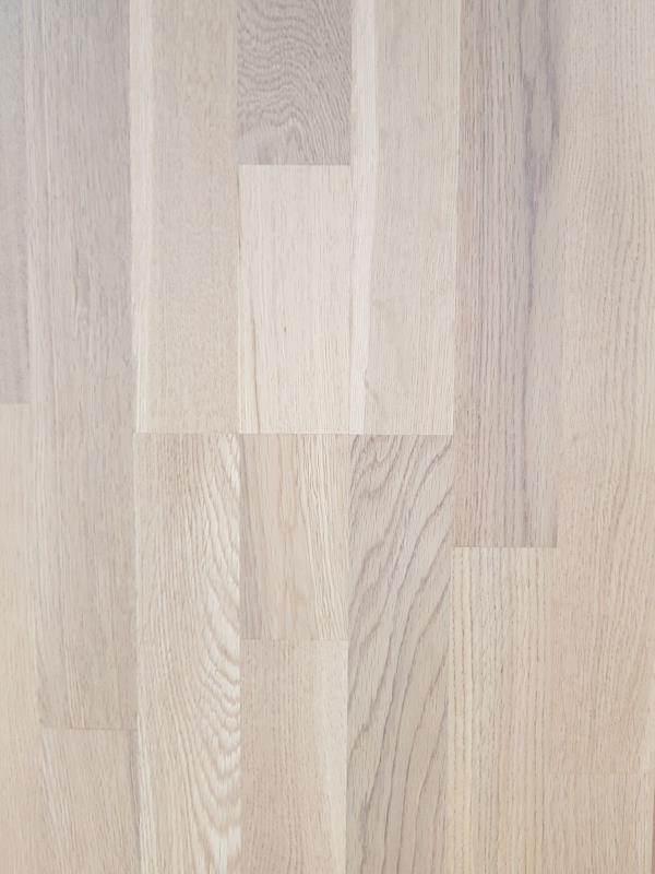 Bedford Engineered White Lacquered Oak 3 Strip-01