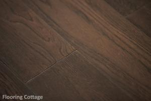 Dolce Solid Oak Hand Scraped Antique Coffee Wood