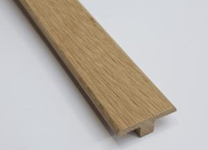 Solid Oak Threshold T-Bar Moulding 1m/Trim