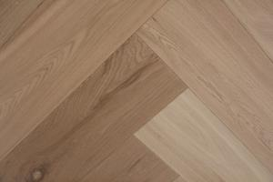 Cottage Engineered Herringbone Invisible Oiled Oak 148mm-11